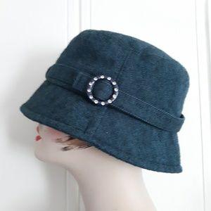 D & Y Blue Bucket Hat